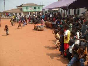 Ghana cultural performance